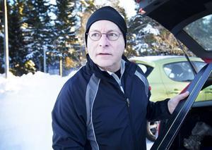 Sten Halseth åker gärna skidor i Hemlingby.