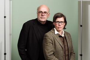 Dan Wolgers och Lena Andersson har samarbetat med en utställning och i boken