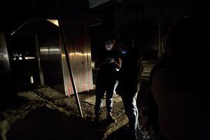 Människor evakauerades från restauranger i La Roma i Mexico City där strömmen  också slogs ut.