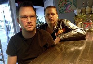 Niklas Källström och Fredrik Näslund åker i början av mars med sitt Gunstruck till Örnsköldsvik och festivalen Rock on the Docks.