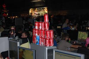 Andra bygger med Cola