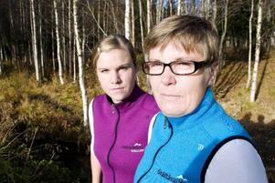 Gertrud Abramsson och Anna-Sara Carlsson vill att fler barn och ungdomar ska få uppleva den jämtländska naturen.