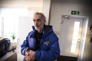 Krister Andersson, projektledare för natthärbärget Vinternatt.