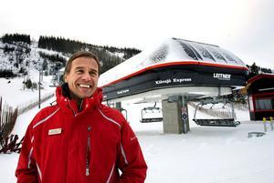 Fjällnäringen rustar trots lågkonjunktur. Vi räknar med en bra vintersäsong, säger Torgny Svensson, destinationschef i Vemdalen-området.