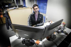 Civilingenjören Deler Abdalaziz från Syrien har fått jobb som systemutvecklare på Cybercom i Östersund tack vare projektet