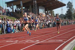 Isabelle Eurenius från Lugnvik vann lekande lätt på fin tid.