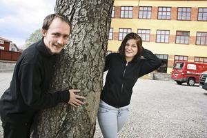 Upplevelse. Fredrik Lingvall och Emelie Kulin hann uppleva många saker under sin månadslånga vistelse i Italien. – Jag vill åka mer utomlands, helt klart, säger Emelie.
