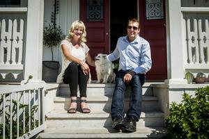 Anders Larsson och Susanne Sterner skapat sitt eget paradis på den gamla familjegården i Åh i Njurunda.