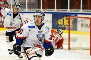 Johan Nilsson gjorde avgörande målet när Bofors besegrade Malmö.