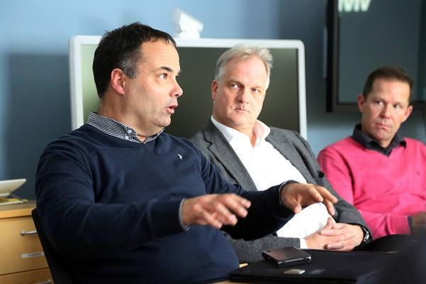 Både Per-Erik Persson från Norrlandsfonden och Anders Byström, vd Regionförbundet, ställde sig positiva till planerna.