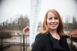 Centerpartiets partiledare Annie Lööf besökte Västerås under fredagen.