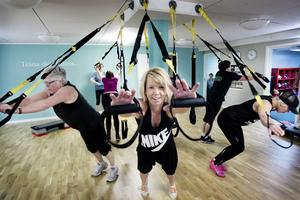 Anna Maria Alvebro har drivit sin träningsverksamhet i två år.