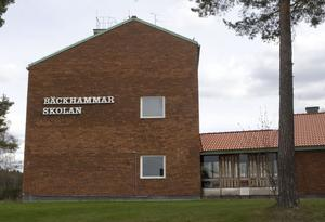Äldreboende. Den äldsta delen av Bäckhammarskolan kan i framtiden bli trygghetsboende. Foto: Jackie Meh