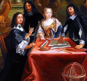 Den berömde franske tänkaren René Descartes slutade sina dagar som hovfilosof hos drottning Kristina i Sverige. Han vantrivdes i kylan och fick en kraftig förkylning som tog livet av honom.