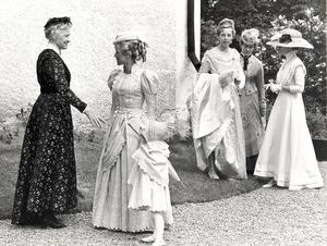 Elisabeth Lewenhaupt, Mona Rydén, Christina Åhs.