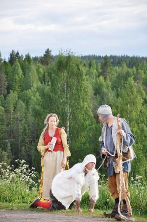 Flykten från Ravundbergen gavs i Döda fallets friluftsteater.