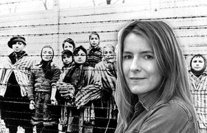 Bild tagen strax efter det att Röda armen berfriade fångarna i Auschwitz  1945. (AP Photo)