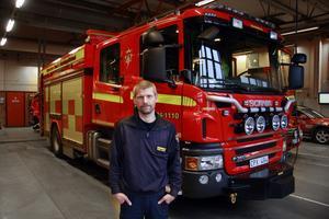 """Skaffa marginaler. """"Det gäller att bygga upp förlåtande system. Det ska inte vara dödsstraff på att göra ett litet misstag"""", säger brandingenjör Fredrik Eriksson."""