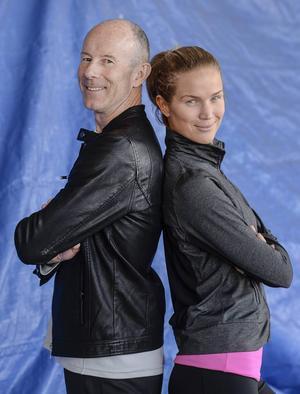 Ingemar Stenmark och Marie Serneholt laddar inför finalen i TV4:s