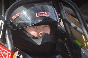 Fredrik Leanders, Alfta, körde Juniordragster.