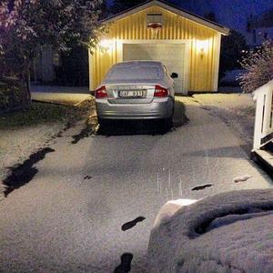 Första snön, Köpmanholmen.