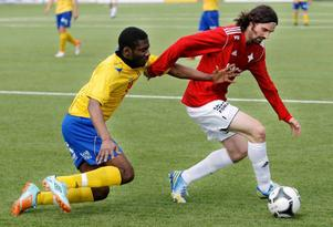 Arkivbild. Brian Wake blev tremålsskytt när IFK Östersund bortabesegrade Holmsund.