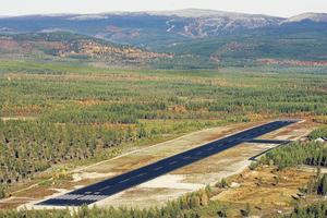 Flygfältet i Hedeviken byggdes 1970 av dåvarande Hede kommun med syfte att lägga en bra grund för den framtida besöksnäringen.