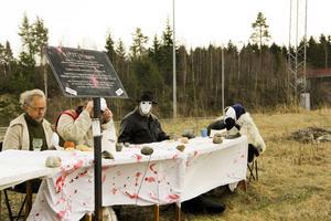Vid flera tillfällen användes maskerna.
