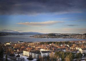 Utsikten från Östersunds högsta bostadshus är minst sagt magnifik.