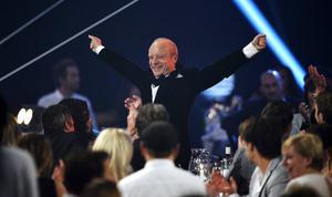 Jonas Gardell på Kristallen-galan 2013, då
