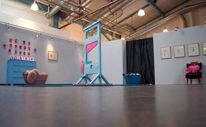 Bara under förra året hade Ytan sex utställningar på Culutren.  Henrik Haukelands utställning