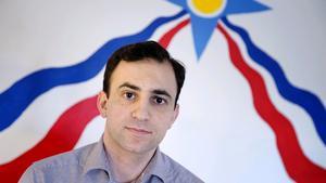 Afram Yakoub, ordförande i Assyriska riksförbundet.