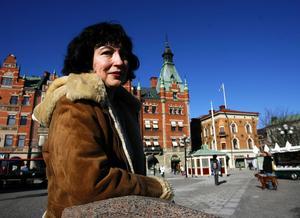 Diana Kapitanska, ordförande för Företagarna i Sundsvall.