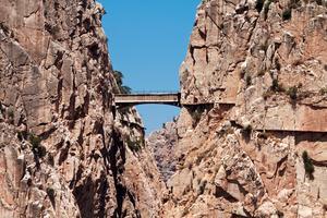 Caminito del Rey öppnar igen - men nu är vägen något mindre riskabel.
