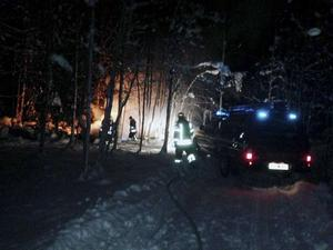 En kvinna i 90-årsålden miste livet i en brand i Orsa kommun den 17 januari.
