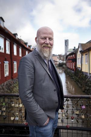 Daniel Nordström, chefredaktör och ansvarig utgivare för VLT.