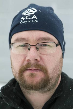 Leif Härjegård på SCA