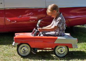 Drömmen - en amerikanare! Från Amerikan Car Show.