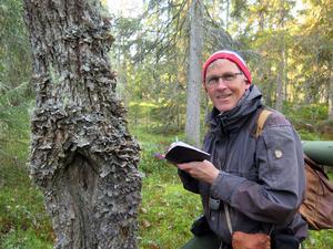Författare Bengt Oldhammer från Orsa, tidigare medarbetare på Dala-Demokraten, var nominerad till WWF:s pris Årets Miljöhjälte.