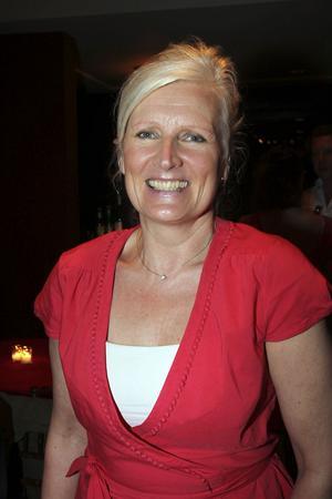 Helen Teike från World childhood foundation är en väldigt viktig person, och var en av vip-gästerna.