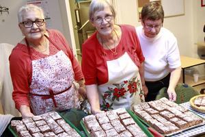 Köksproffsen har inte varit med i 30 år, men bra länge: Maj Persson, Ingrid Söderberg och Ingegerd Wallin.