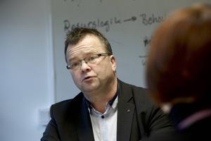 Clas Jacobsson dog i mars 2016. Han var fram till årsskiftet 2016 oppositionsråd i landstinget för Moderaterna. Fotograf: Claes Söderberg