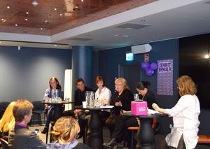 I panelen sitter bland andra Gunilla Kindstrand, nytillträdd kulturchef för Mittmedia där Länstidningen ingår.