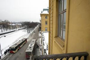 I Gamla Grands båda flyglar ut mot Gavleån låg hotellets bröllopssviter.