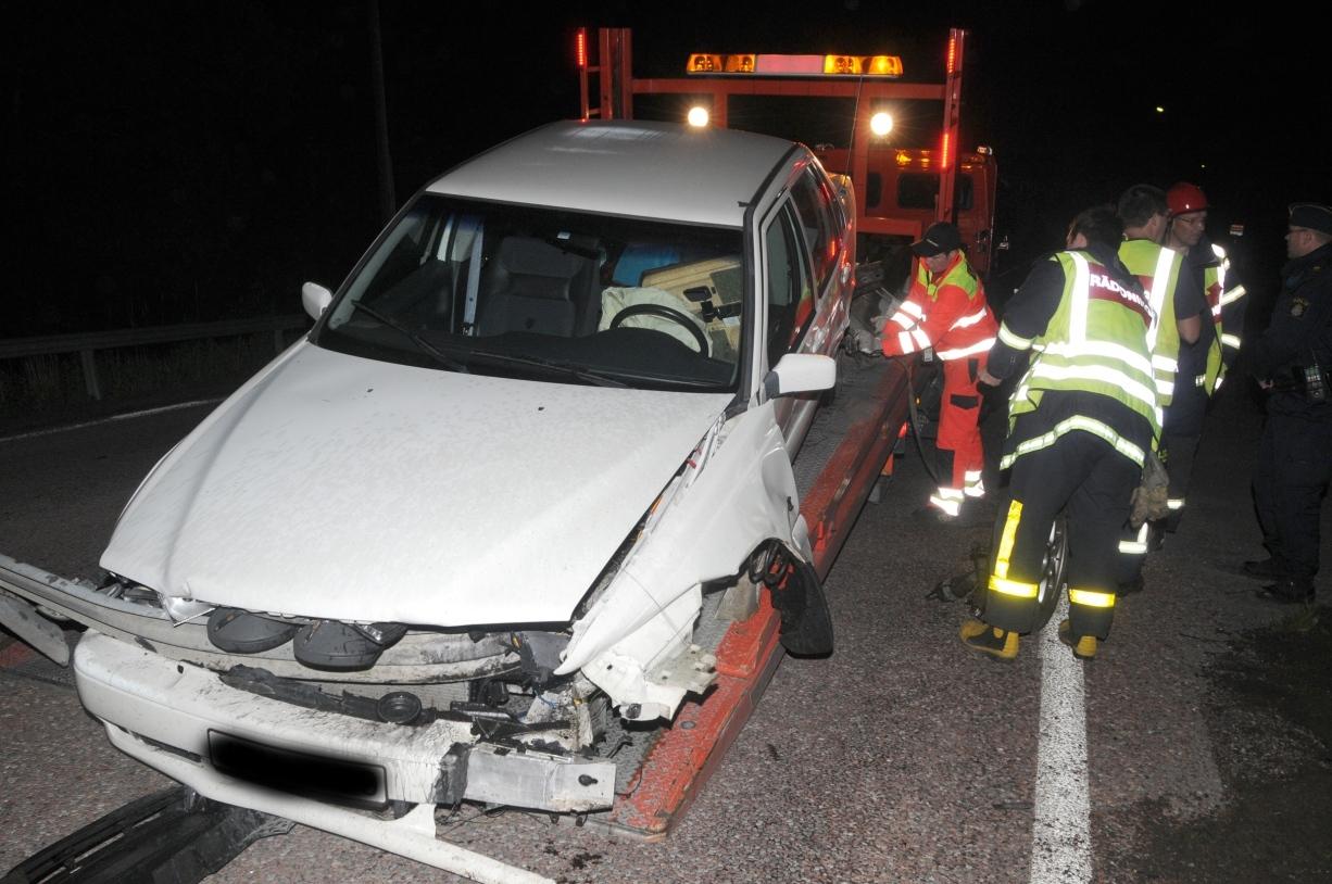 Anglavakt vid trafikolycka