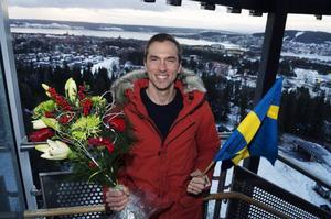 Kampen om 2013 års Bragdguld gick också till Johan Olsson. Priset delades ut i Östersund, på restaurang Arctura.