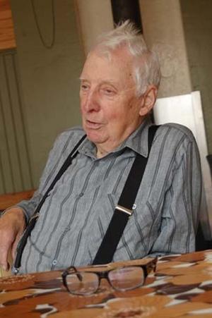Kurt Ellström har mycket att berätta om sitt liv som länsjaktsvårdare