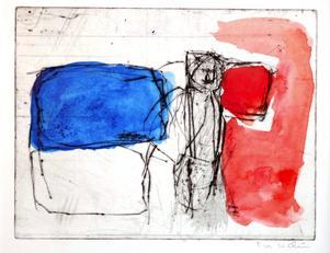 Monotypi. Grafik av Eva Lidén.