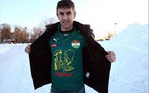NYFÖRVÄRV. I går blev Nedim Halilovic. Bosniern Halilovic har bland annat 16 landskamper på meritlistan.foto: johnny fredborg