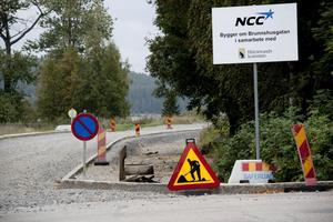 Vägen ut till Sälsten får ny asfalt och sepererad vägbana för gång - och cykeltrafikanterna.